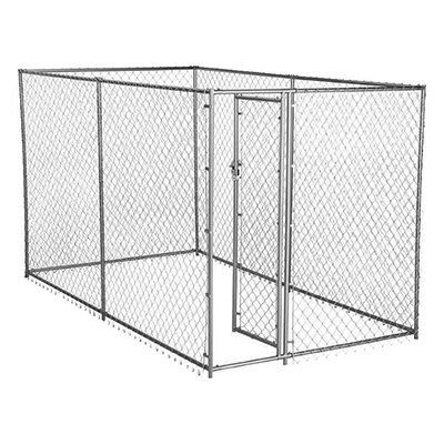 Lucky Dog Champion Dog Kennel Box Chain Link 10 X 5 X 6 Ft Model Cl 61028ez Chain Link Dog Kennel American Kennel Club Dog Playpen