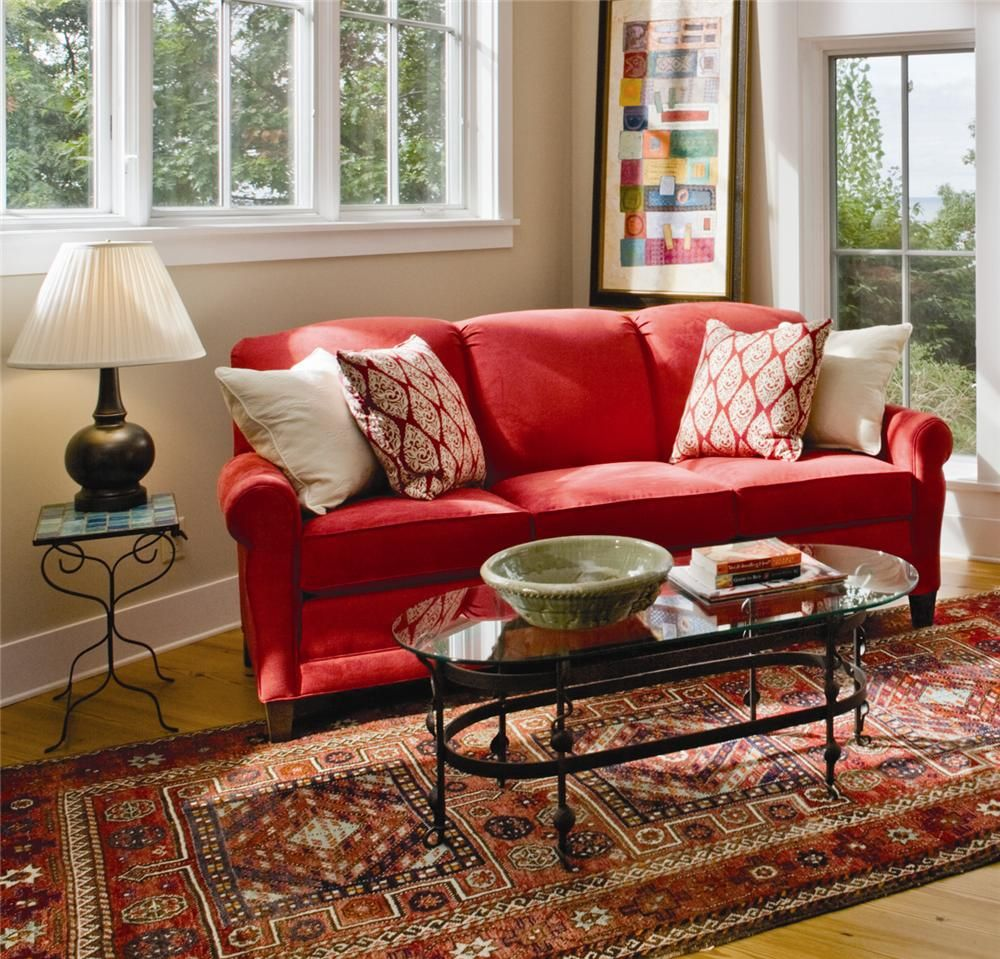 374 Stationary Sofa By Smith Brothers