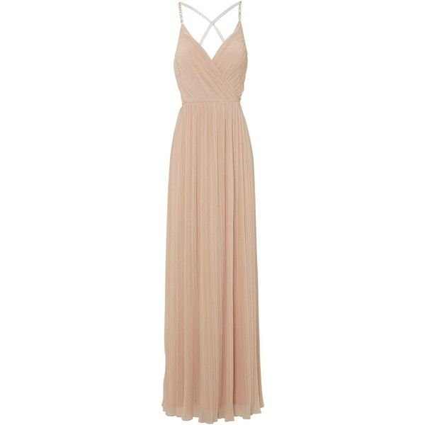 Jane Norman Diamante strap maxi dress ($64) ❤ liked on Polyvore ...