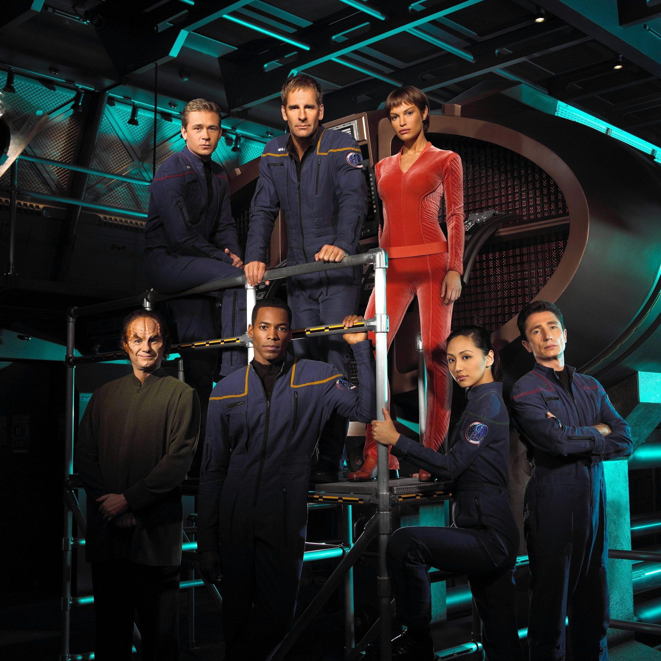 Star Trek Star Trek Enterprise Cast Star Trek Enterprise Photo 7651373 Star Trek Enterprise Star Trek Tv Star Trek Voyager