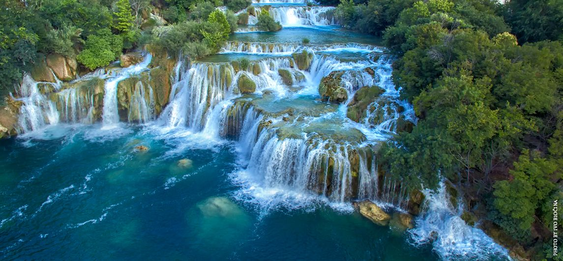 Croatia Feeds Many Rivers To Cross 6 Rivers For An Amazing Krka National Park Krka Waterfalls National Parks