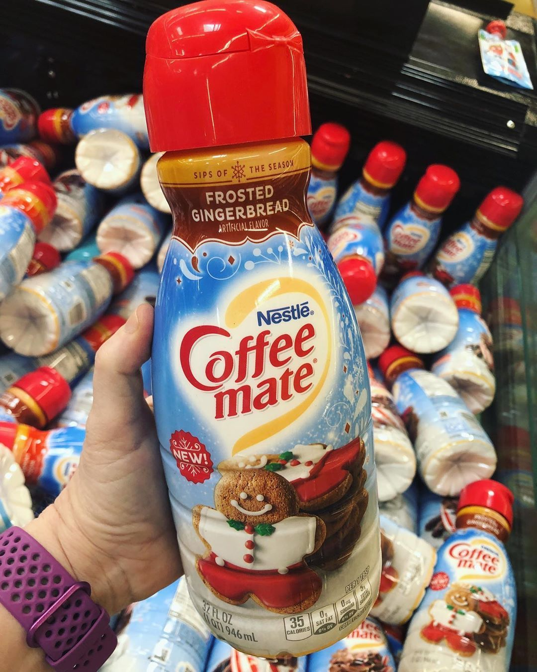 New Frosted Gingerbread CoffeeMate creamer is hitting