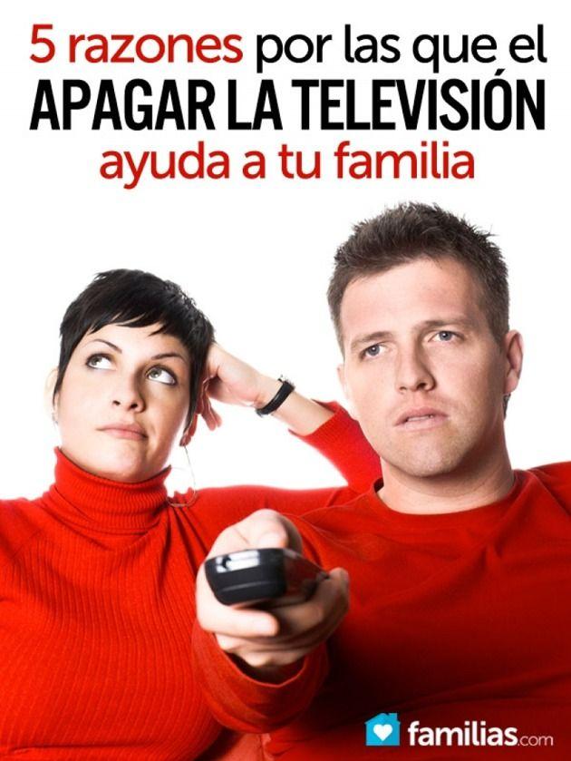 Ver televisión se ha convertido en una actividad popular entre familias, e incluso cuando esta actividad puede promover interacciones positivas, el apagarla ofrece aún más.