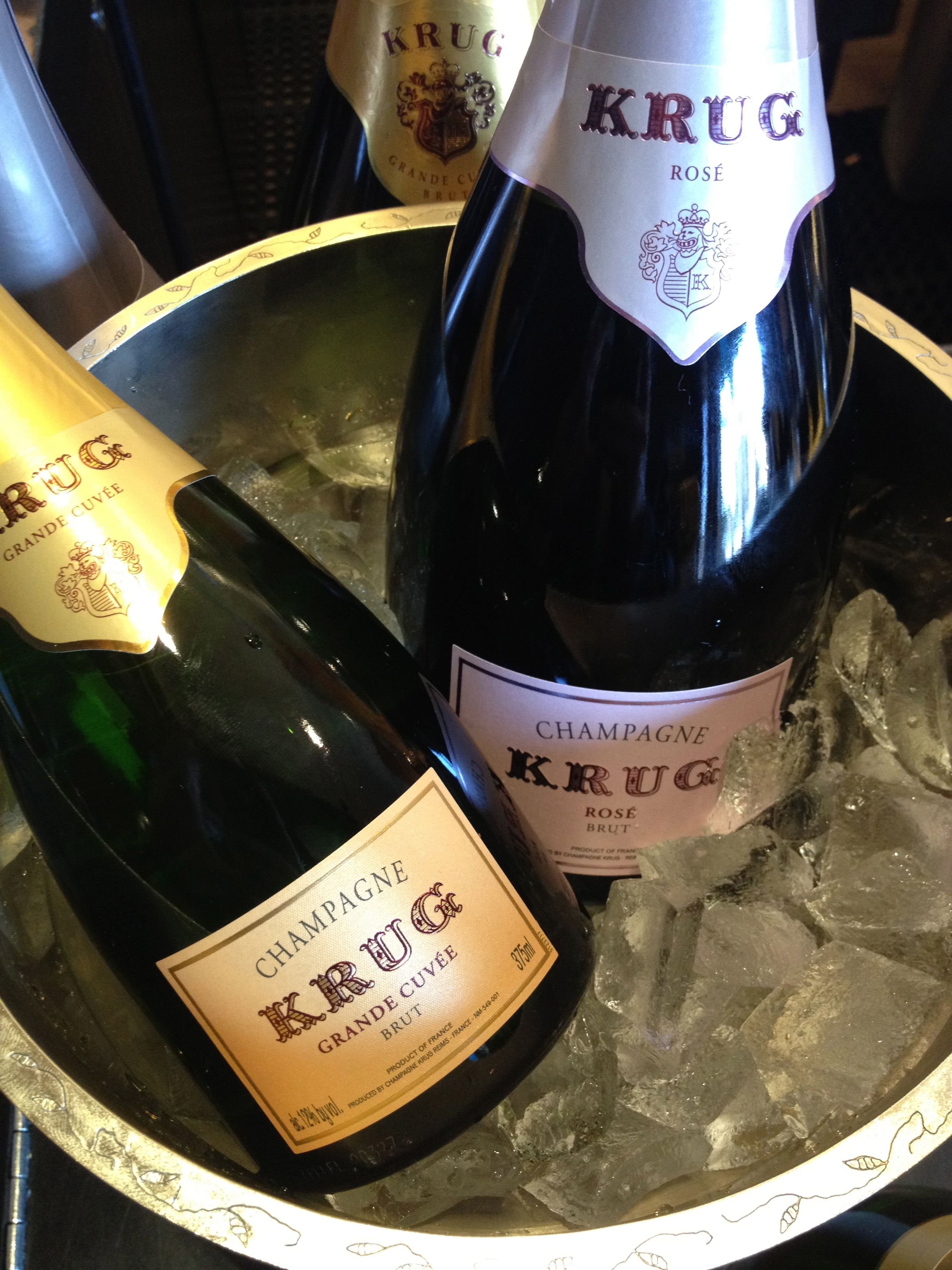 Now serving Krug Champagne in THE Blvd