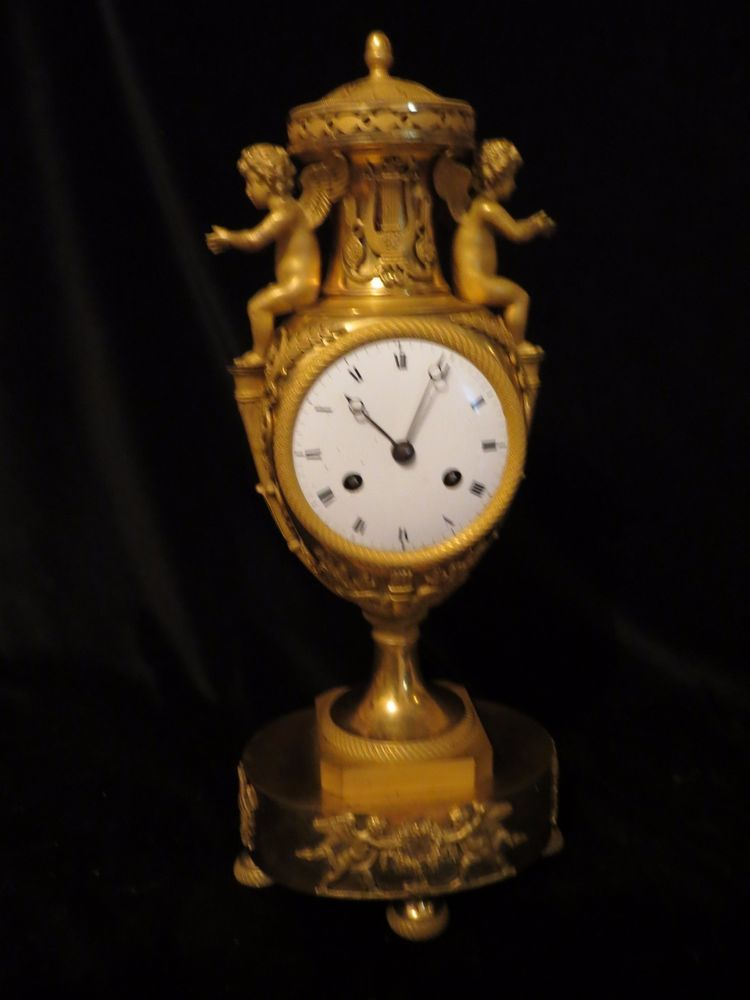 empire vaas pendule c1810 Ormolu Mounted