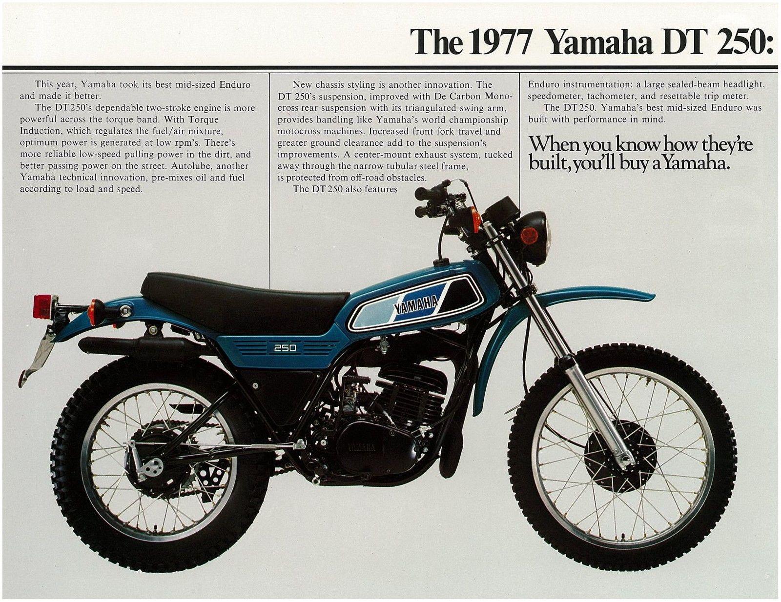 Wiring Diagram Yamaha Dt250