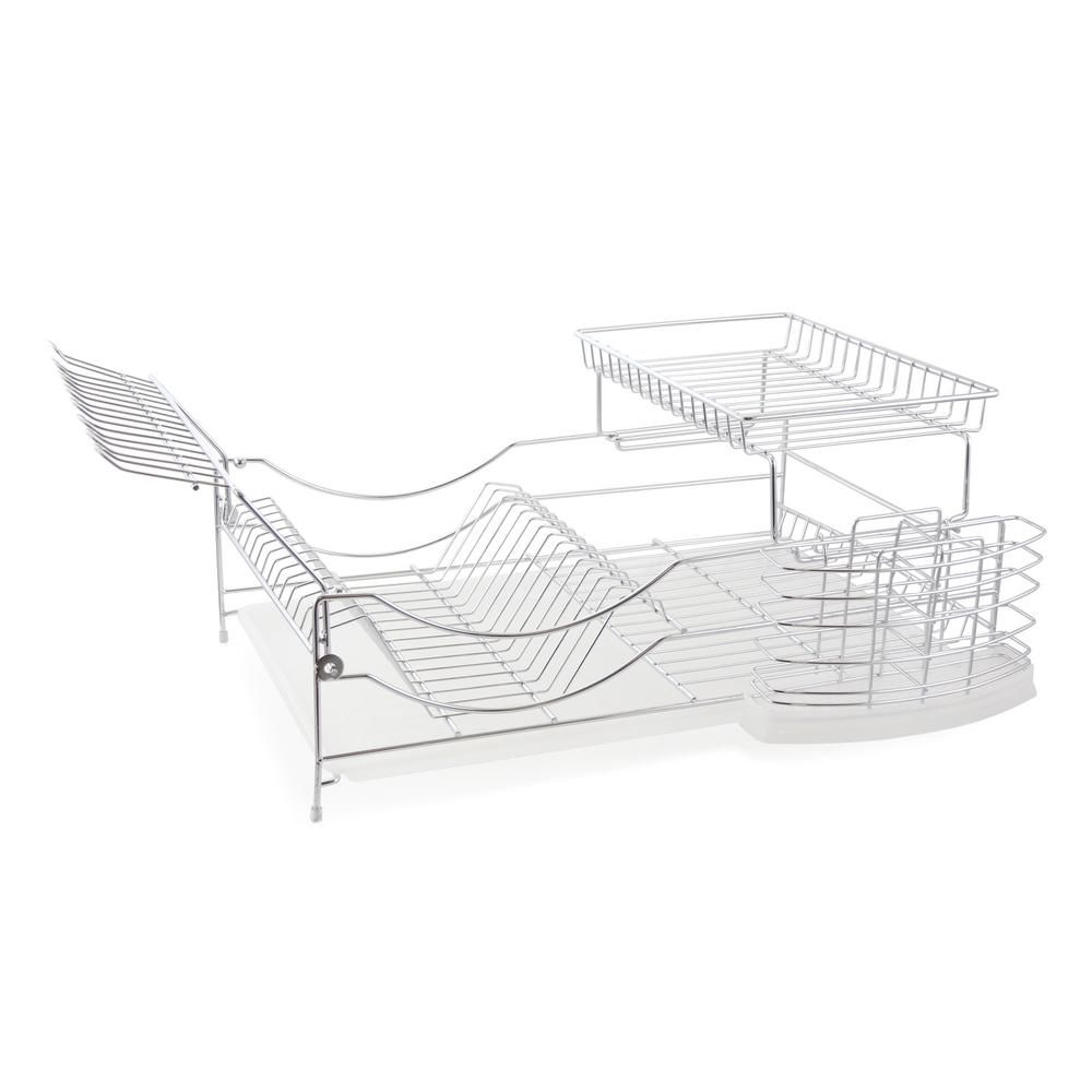 Better Chef 22 in. Sleek Modern Design Dish Rack, Silver #dishracks