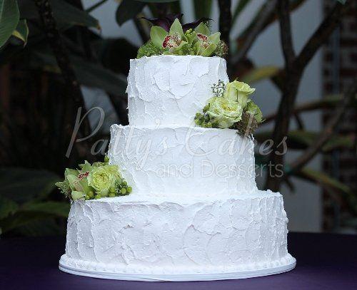 Wedding Cake 3 Tier Texture Homestyle Basic Round