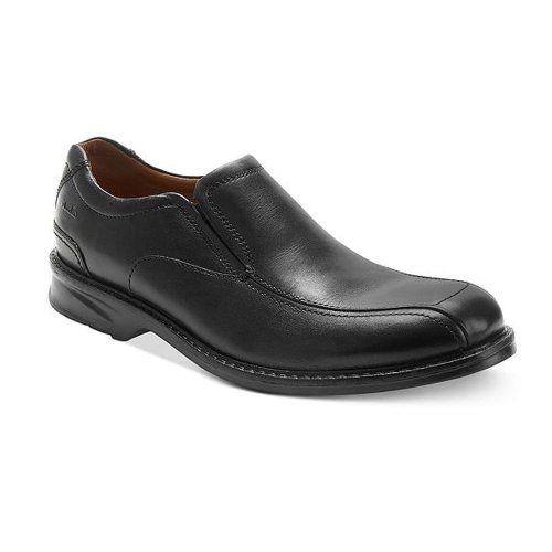 Clarks Men's Colson Knoll Slip-On Loafer,Black,7.5 M US - http