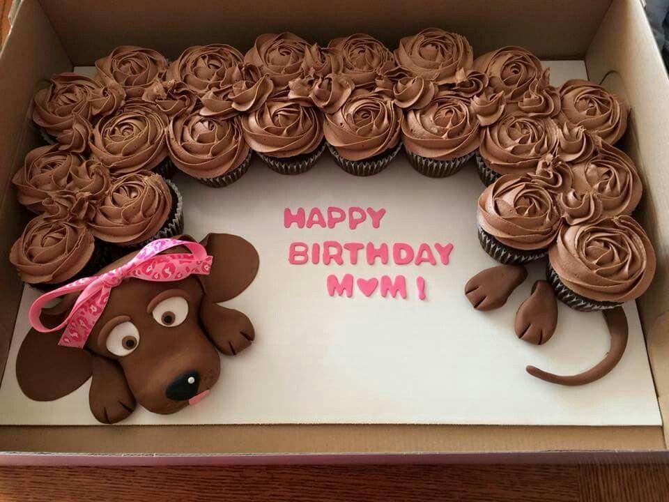 Dachshund Cake Dachshund Cake Pull Apart Cupcake Cake Dog Cakes