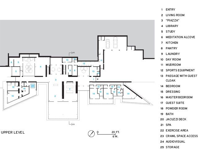 Colorado House Plans casa en las montañas rocallosas, colorado - renzo piano building