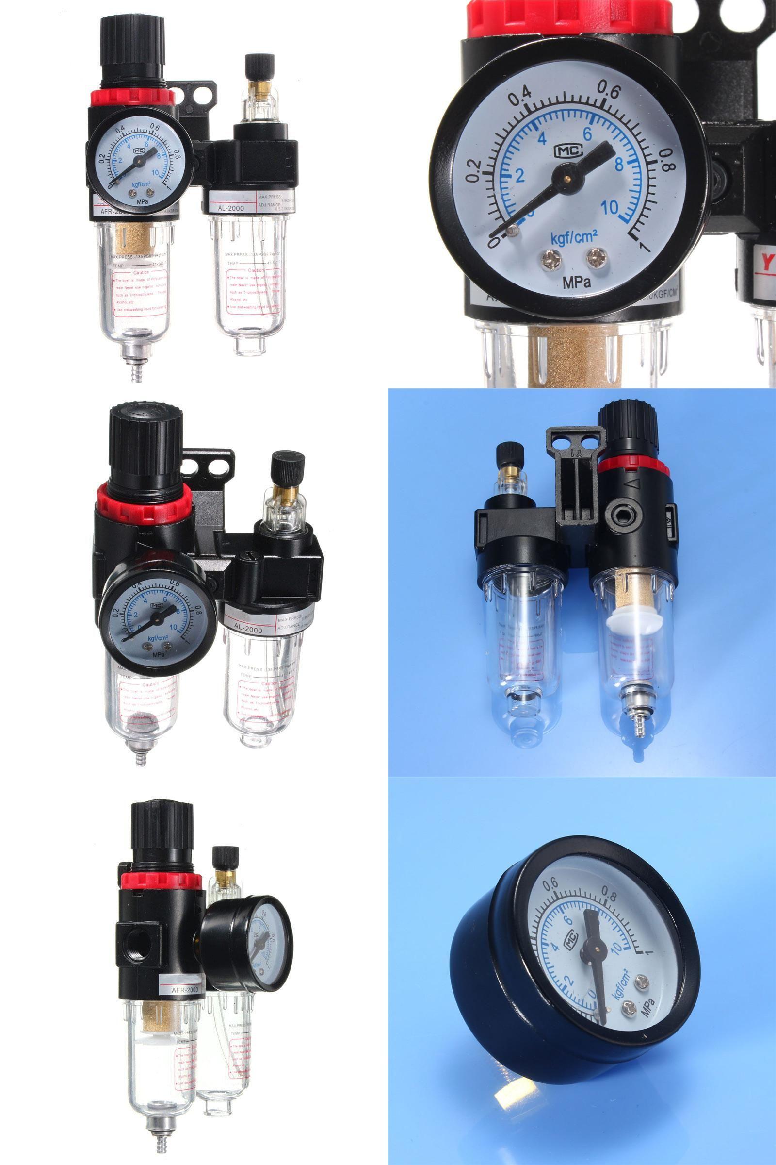 [Visit to Buy] NEW Metal Plastic Air Pressure Regulator