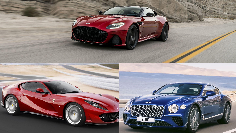 The Aston Martin Dbs Superleggera Vs The Ferrari 812 Superfast Vs The Bentley Continental Gt Top Speed Superleggera Aston Martin Dbs Aston Martin