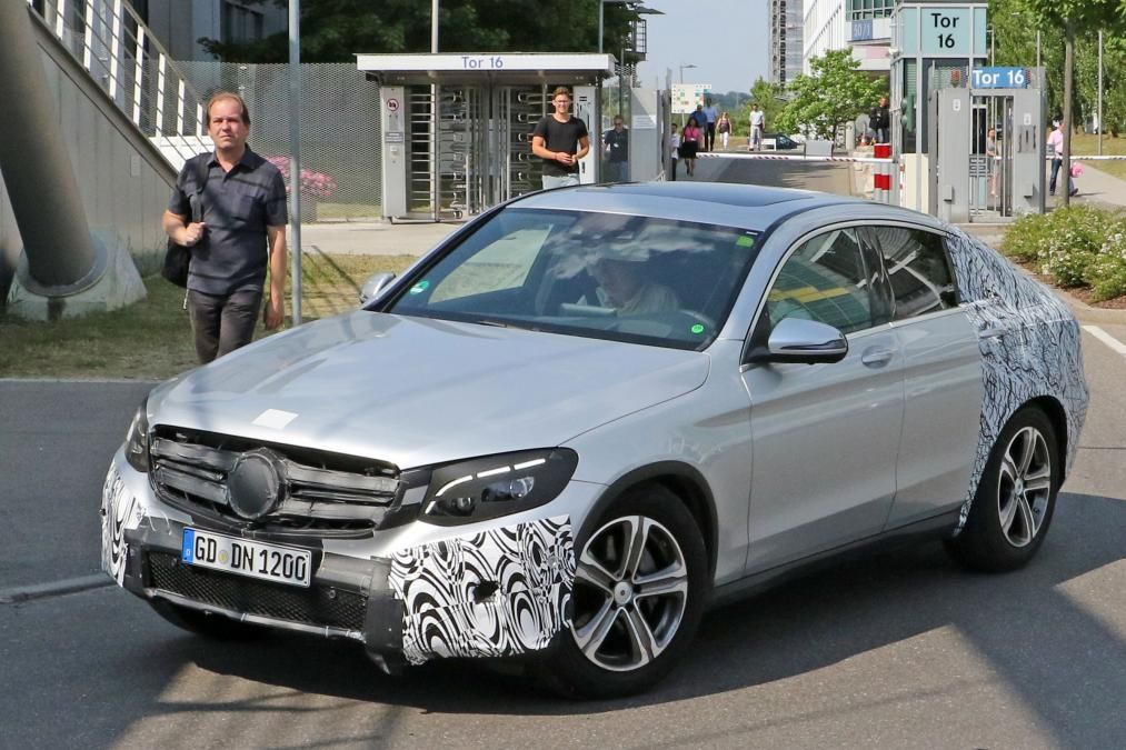 New Mercedes GLC Coupe will be heading to New York Auto Show