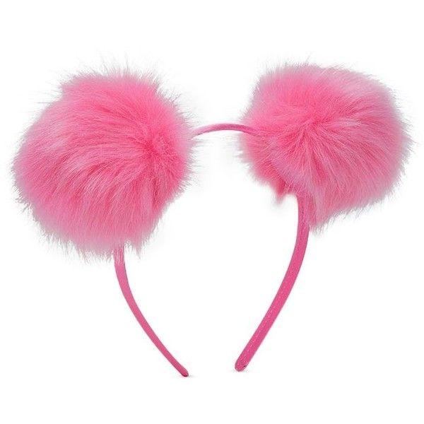 Forever21 Faux Fur Pom Pom Headband (€2 3869cedeab3e