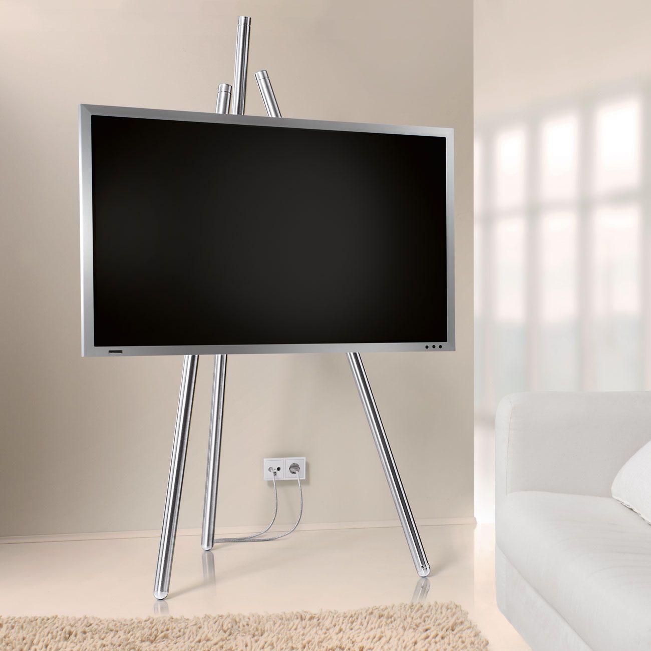 flat tv staffelei bietet beste sicht auf ihren flachbild fernseher und l sst un sch ne kabel. Black Bedroom Furniture Sets. Home Design Ideas