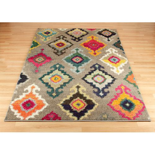 Found It At Wayfair Co Uk Kaleidoscope Grey Beige Area Rug Multicoloured Rug Funky Rugs Rugs