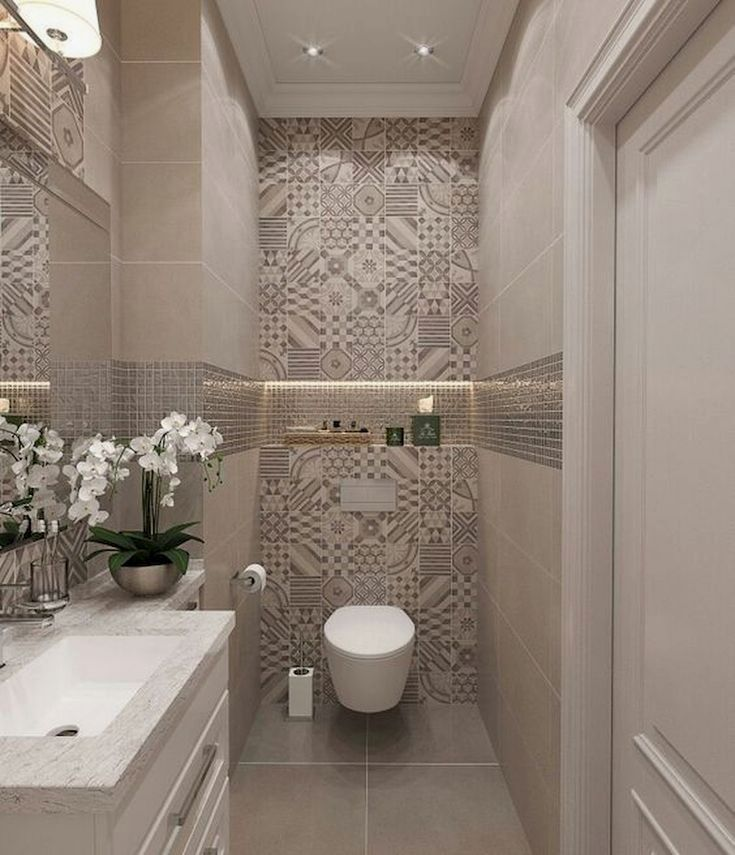 Home Design Ideas The Trendiest Washroom Tiles For You: 20 Design Ideas For A Small Bathroom Remodel