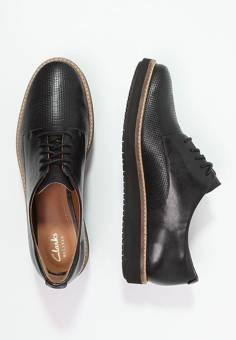 es Darby Black Zapatos Zalando Clarks Con Cordones Glick doCxQWErBe