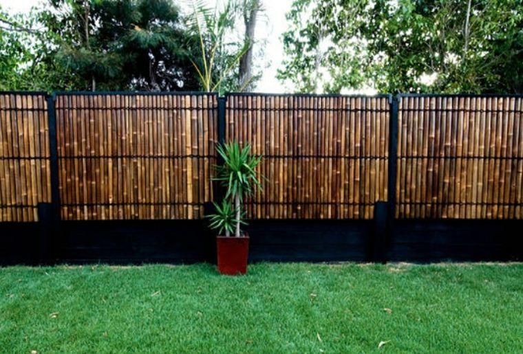 Idée clôture jardin pour un extérieur pratique et esthétique ...