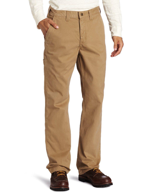 4b9876b2 Amazon.com: Carhartt Men's Relaxed Fit Rugged Work Khaki Pant ...