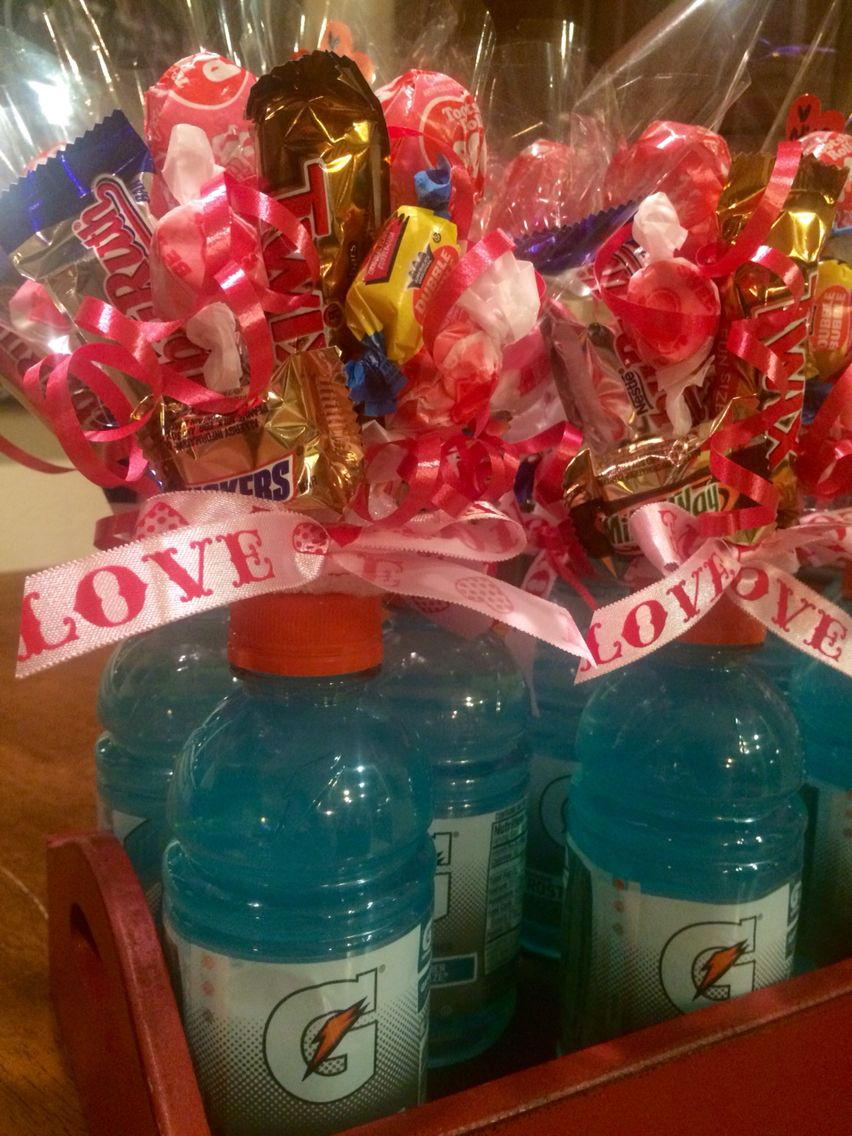 Gatorade Candy Bouquet Kids