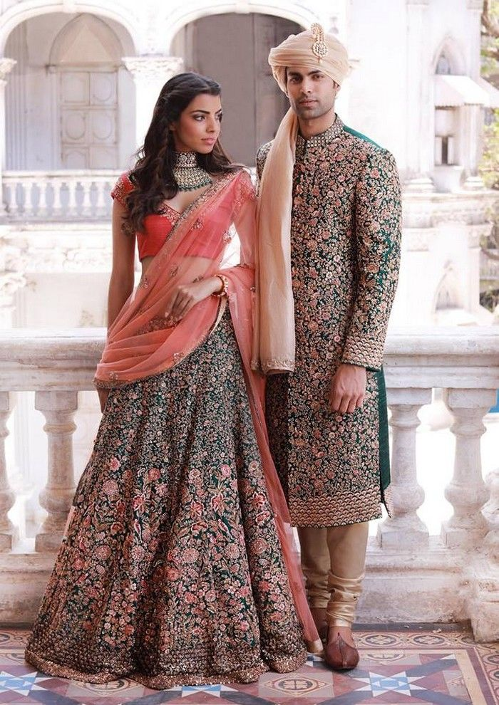 Latest Indian Bridal Lehnga Collection 2018 | Indian Couple Outfit ...