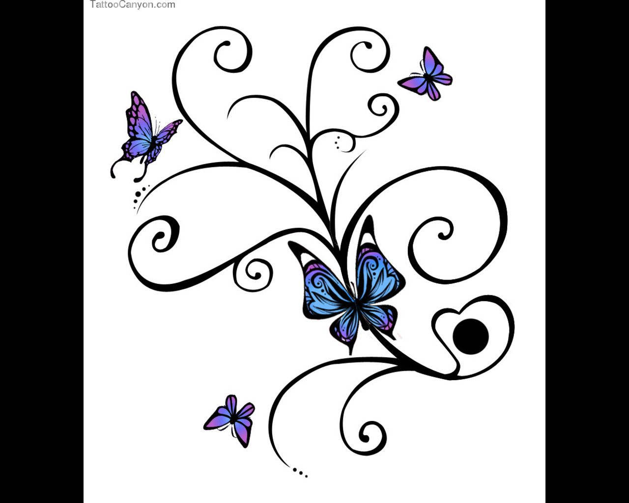The o jays butterfly tattoos and clothes on pinterest - 60 Awesome Free Butterfly Tattoo Designs The Meaning Of Butterfly Tattoos Designs Include Feminine Tribal And Lower Back Butterfly Tattoos