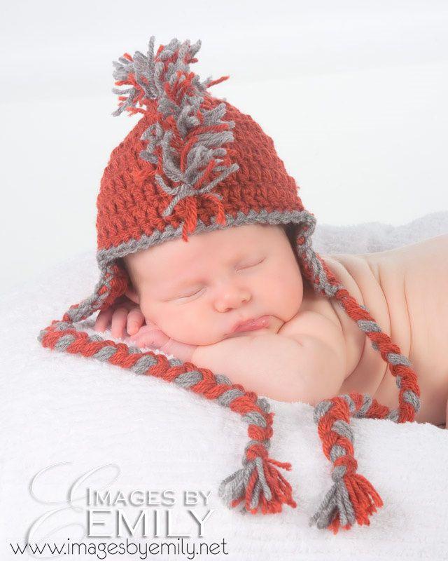 Baby Crochet Mohawk Hat -- Punk Rocker Mohawk Hat   Kyler   Pinterest
