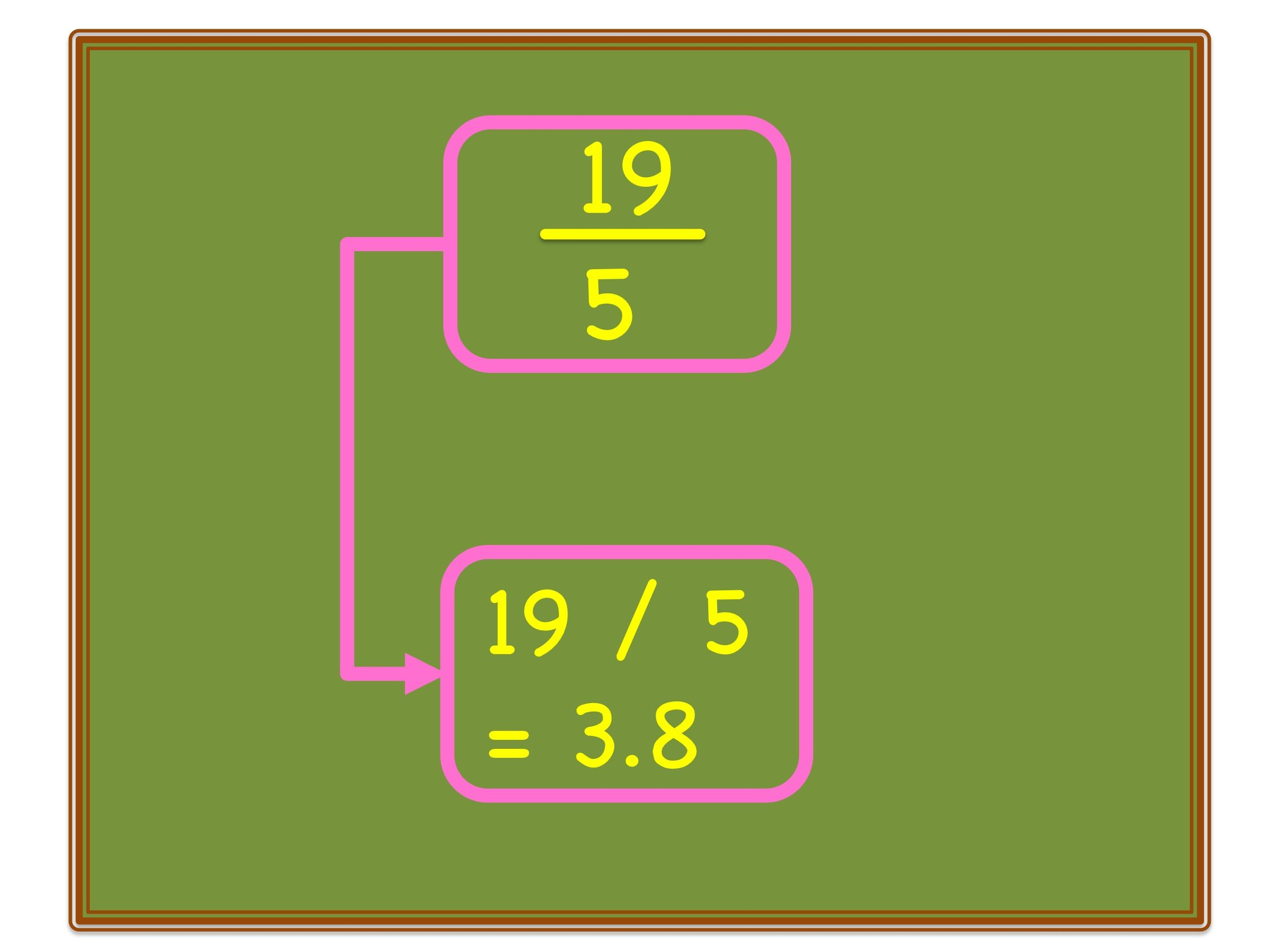 Convert Mixed Numbers Of Fractions Into Decimal Number