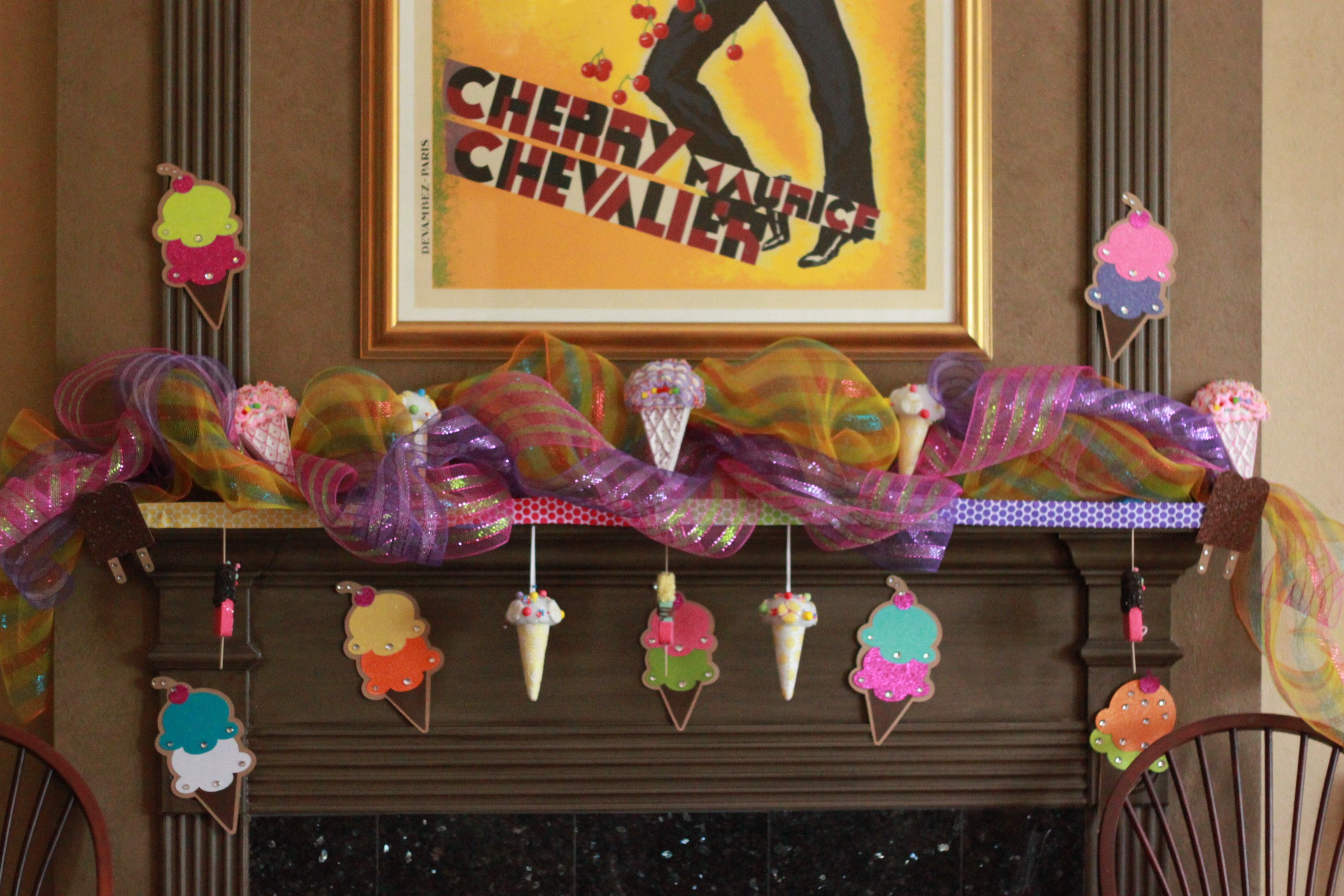 Ice Cream Party Decorations From Twenty27 Creations Hobby