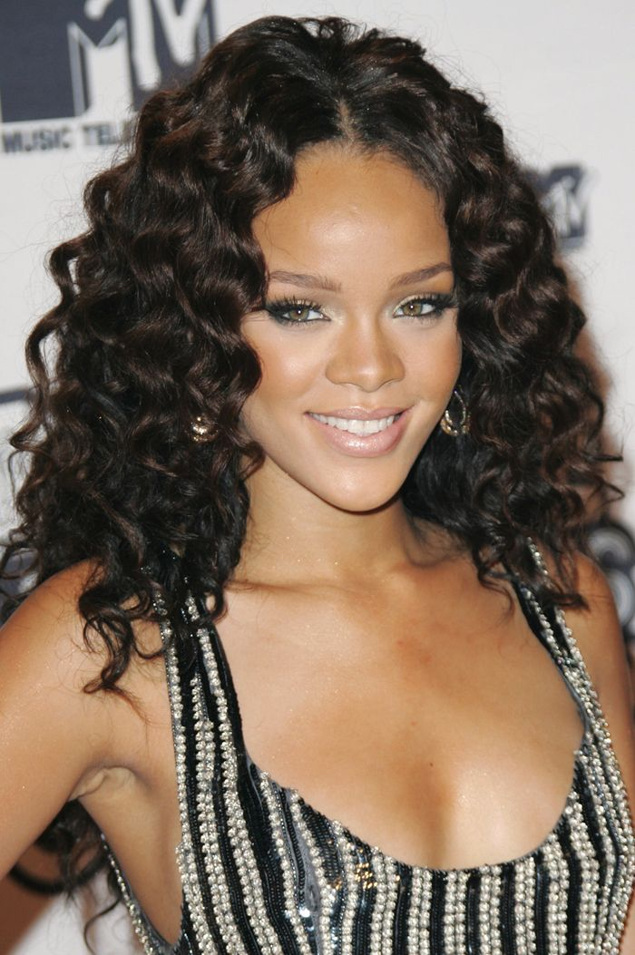 Rihanna Hairstyles Gorgeous 18 Rihanna Hairstyles#rihanna  Celebrity Hairstyles  Pinterest