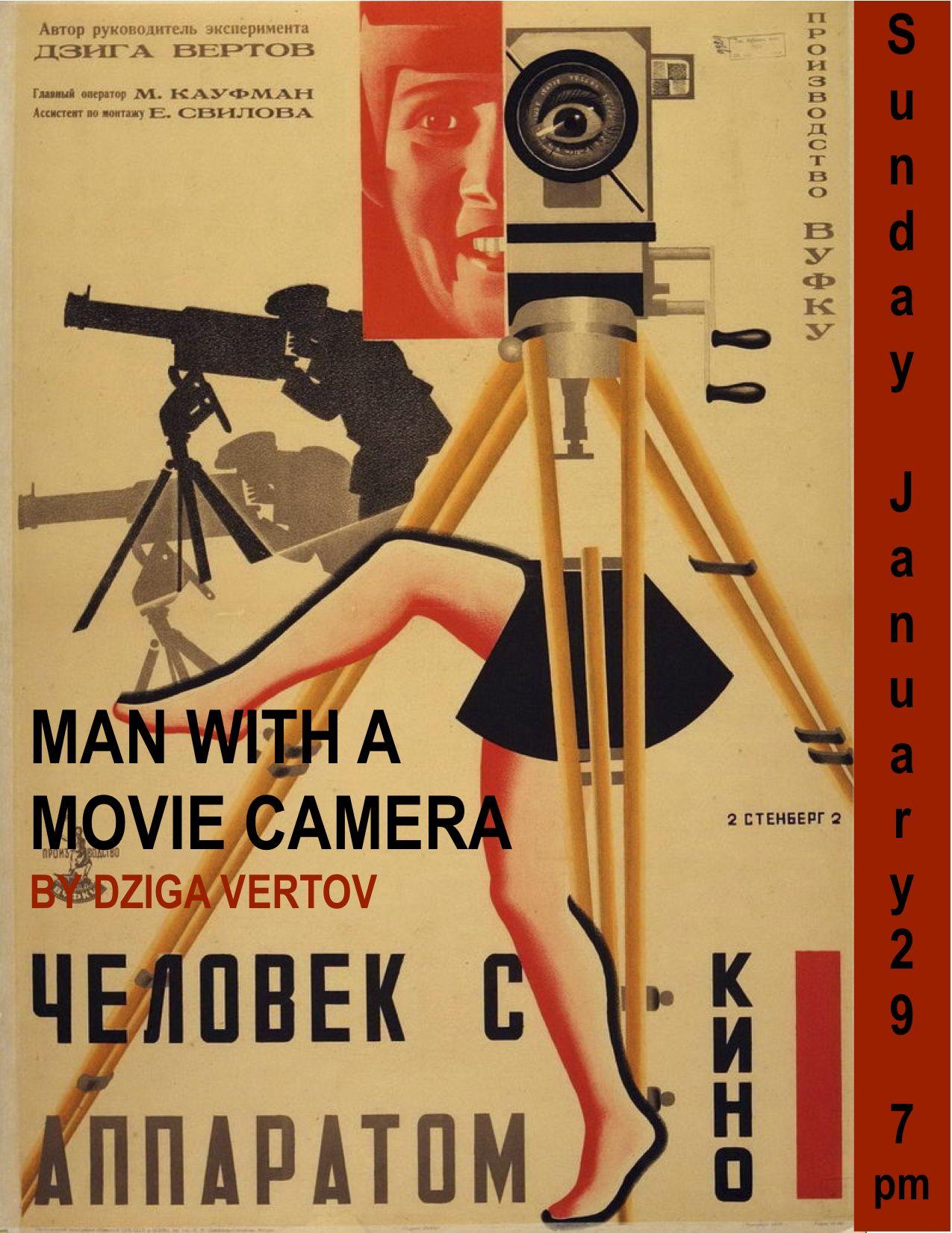O Homem da Camara de Filmar - Dziga Vertov