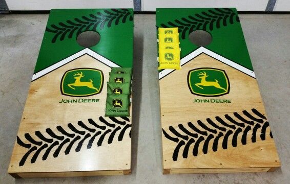 Outstanding John Deer Cornhole Boards Cornhole Boards Cornhole Spiritservingveterans Wood Chair Design Ideas Spiritservingveteransorg