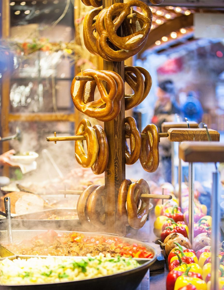 Pretzels In Germany Azamara S Guide To The Best Street Food Around The World Azamara Club Cruises Mus Best Street Food Street Food Around The World Food