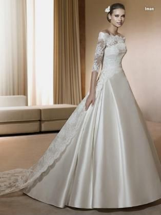 Location robe blanche kouba