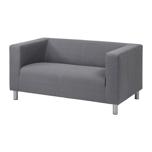 Sessel mit schlaffunktion ikea  KLIPPAN Compact 2-seat sofa Flackarp grey | Loft bedrooms, Lofts ...