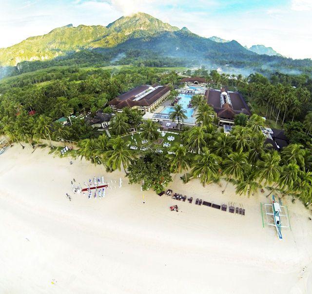 Bird S Eye View Of Sheridan Beach Resort And Spa Palawan