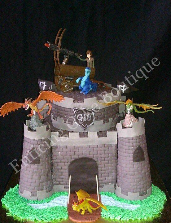 How to train your dragon 3d fondant castle birthday cake cakes how to train your dragon 3d fondant castle birthday cake ccuart Choice Image