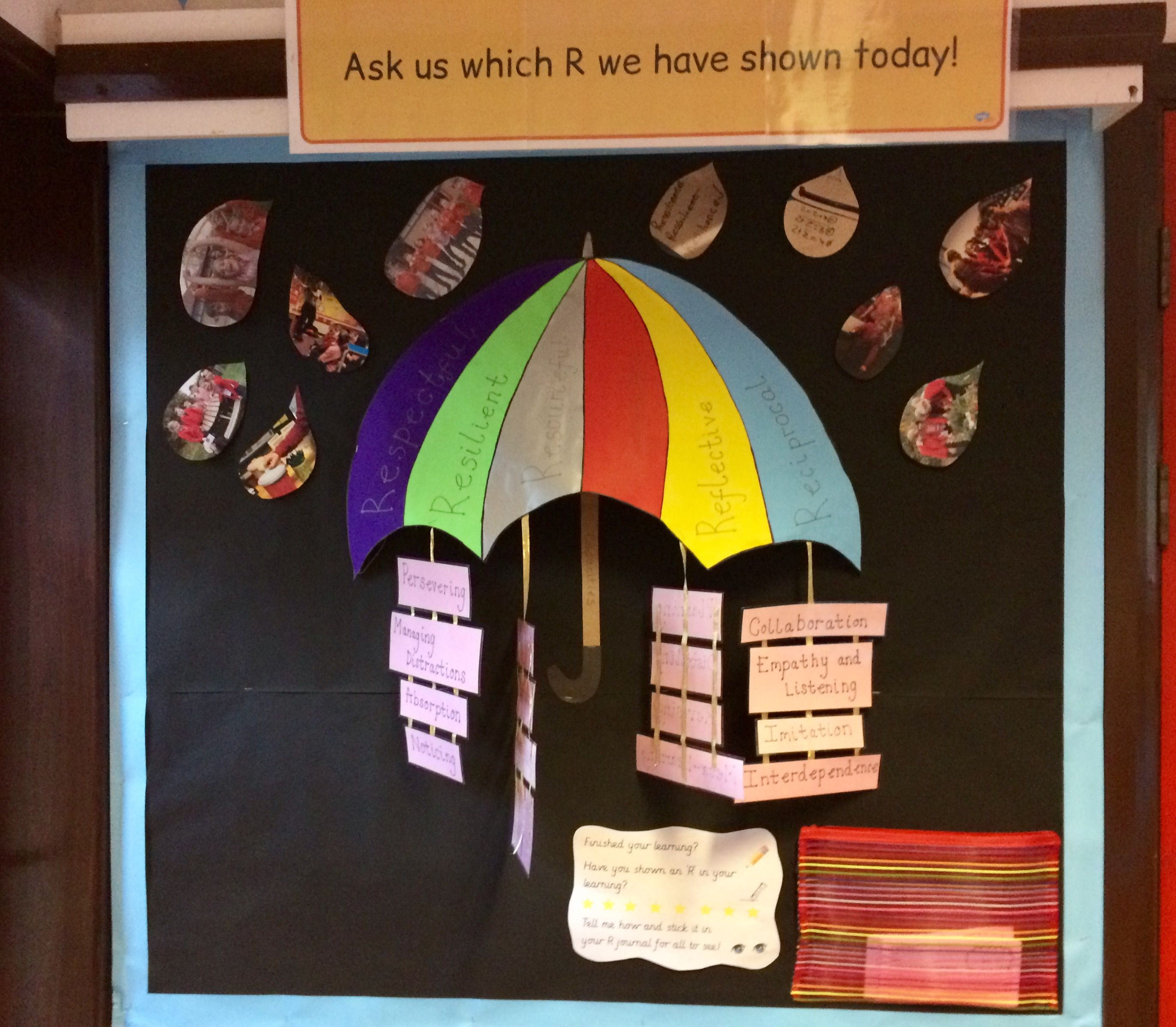 Learning Dispositions Learning Muscles Umbrella Display