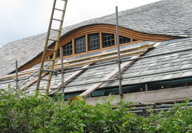 Eyebrow Dormer Unusual To See An Eyebrow Dormer In The Lakes The Roof Pitch In Dormers House Exterior Portland House