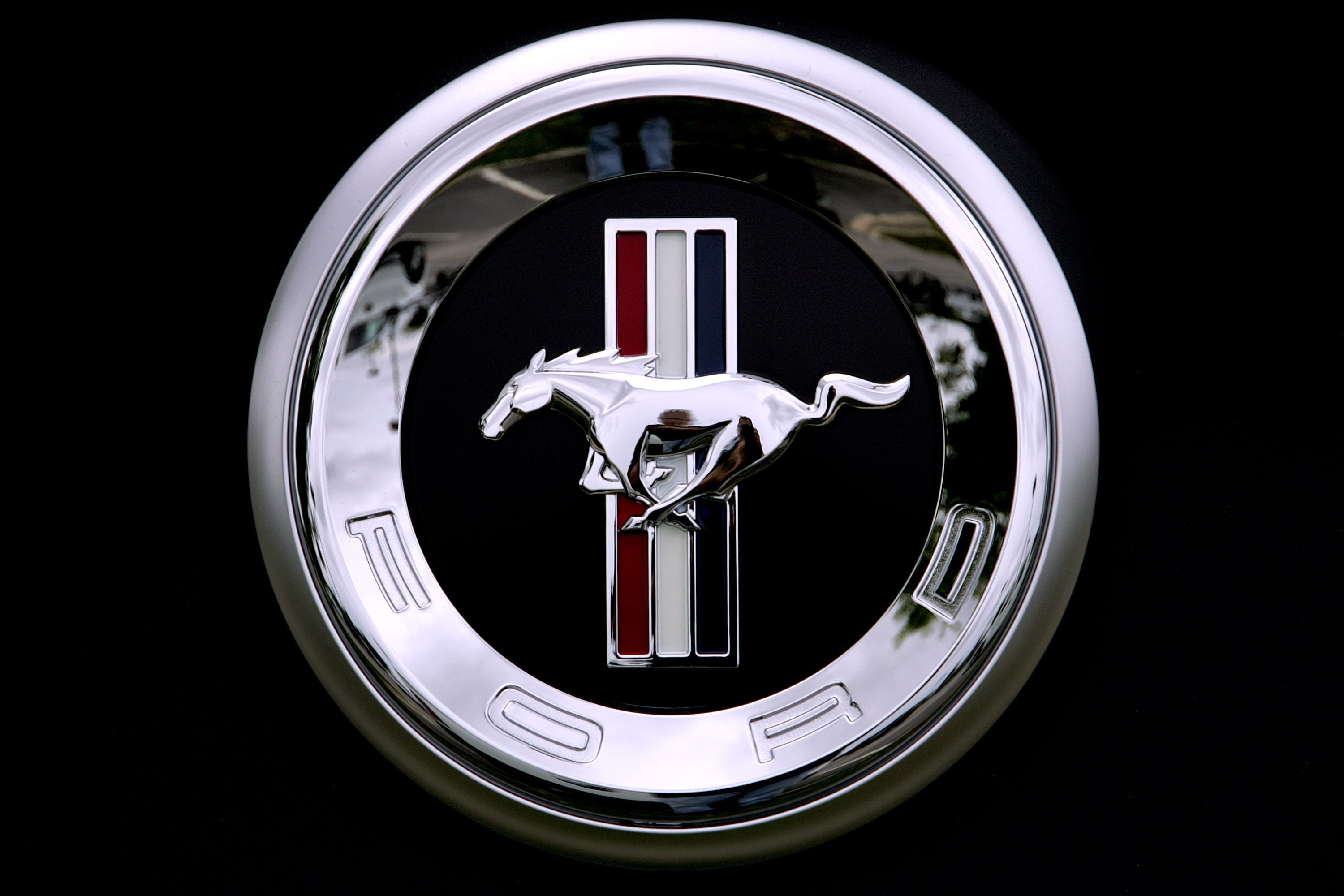 Mustang Logo Wallpaper Photo Clx Cars Pinterest