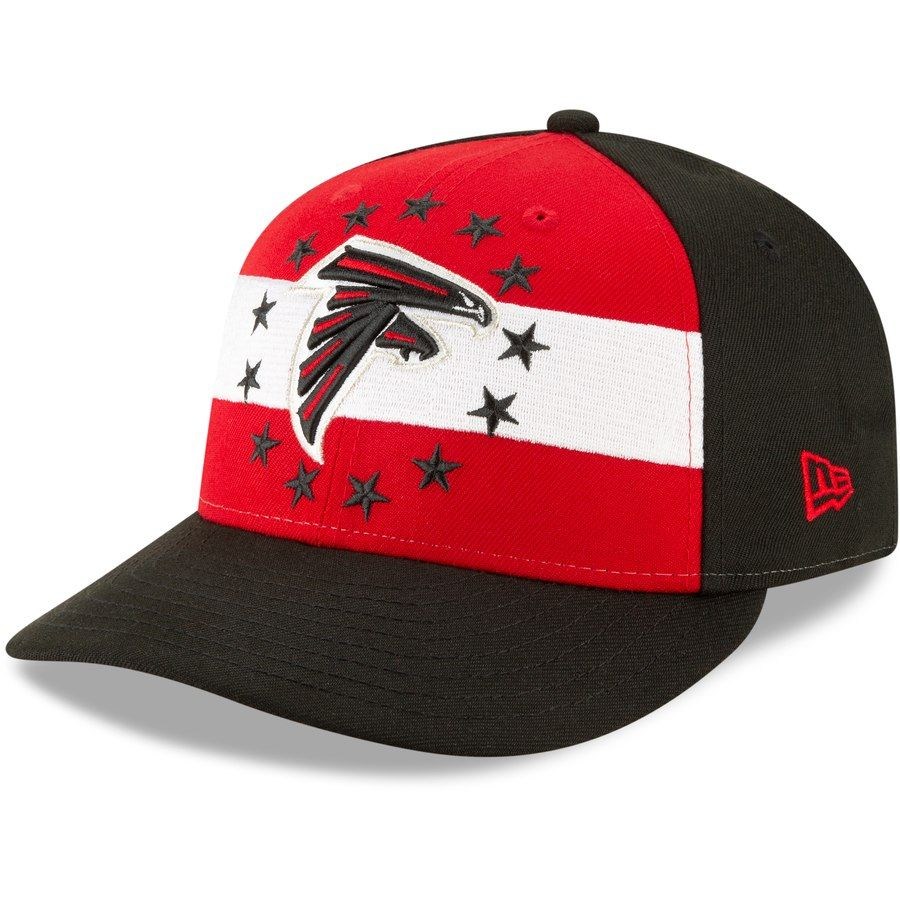 half off 4562a 000e6 Atlanta Falcons New Era 2019 NFL Draft On-Stage Official Low Profile  59FIFTY Fitted Hat – Red, Your Price   37.99