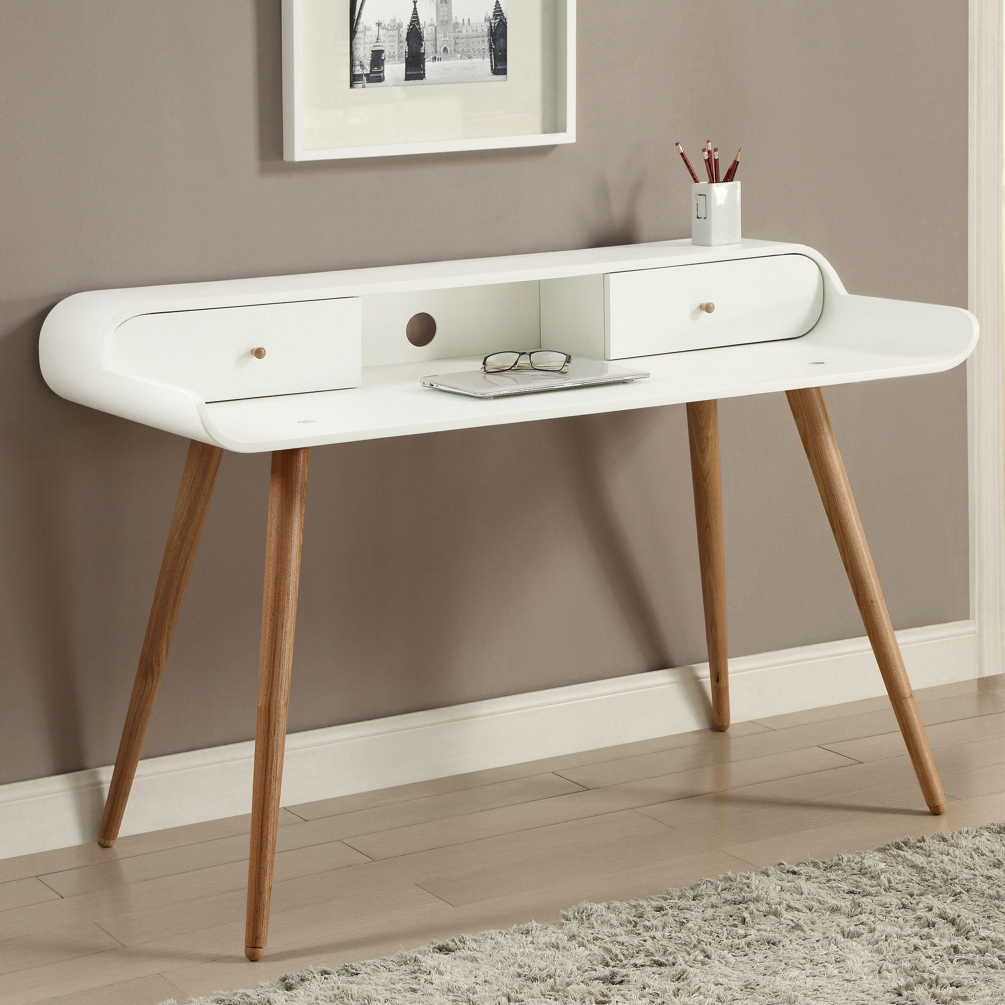 Jual Home Office Writing Desk Reviews Wayfair Uk Home Office Furniture White Desks Office Furniture Accessories