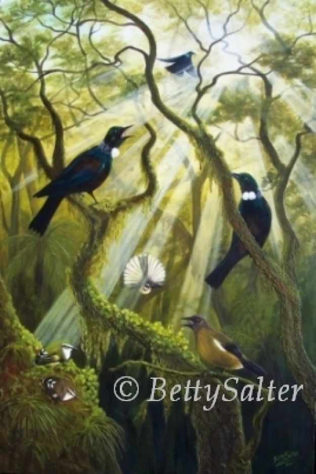 Celebrating a New Day by http://www.artmosfair.com/en/shop/BettySalterArtist