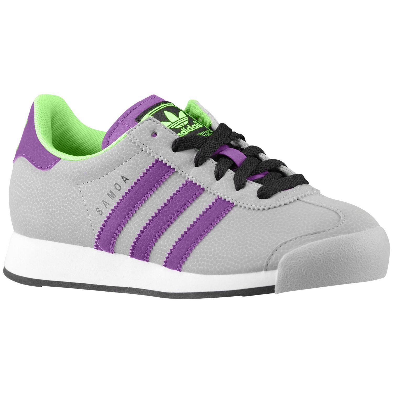 sale retailer 9b89a d54e4 adidas Originals Samoa - Boys  Grade School - Training - Shoes - Mid  Grey Tribe Purple Macaw