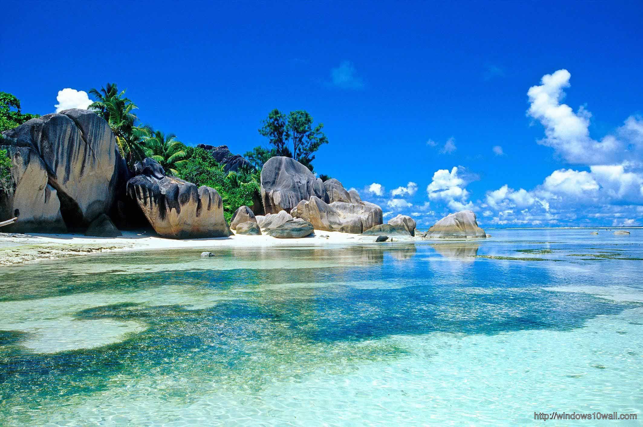 Background Wallpaper Hd Download 37471 Pantai Tempat Yang Indah Pemandangan