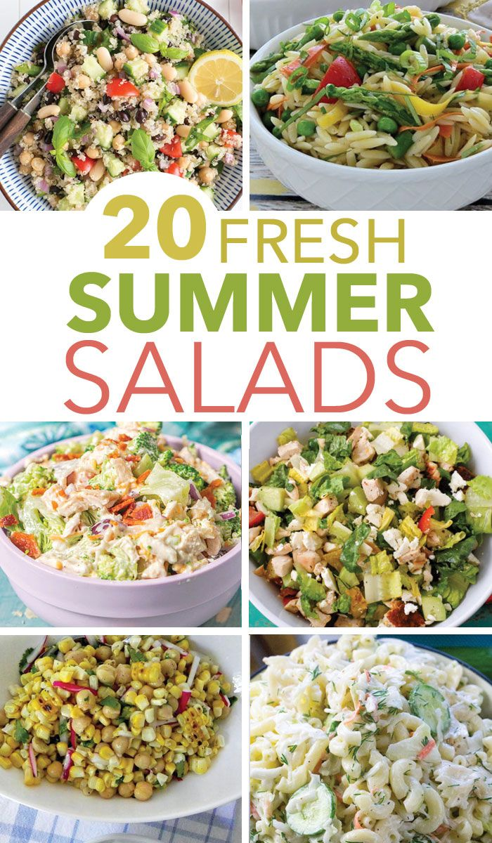 20 Easy Summer Salads That Will Impress Your Neighbors images