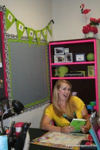 Middle School Teachers have fun decorating their classrooms too!