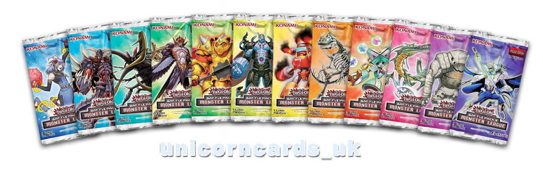 3 9 Gbp Yugioh Battle Pack 3 Monster League 1st Edition And